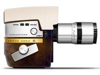 Wollensak super 8 camera