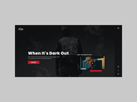 Geazy Album Website Concept