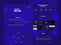Portfolio for Front-End Developer - Mateusz Bryzik