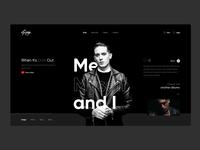 'Me Myself and I' - G-eazy Concept