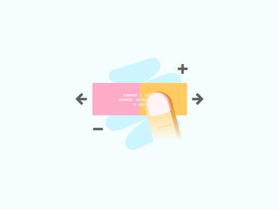 Letter Better Illustration: Swiping