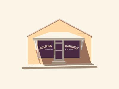Hometown Postcards - Ahne's Bakery