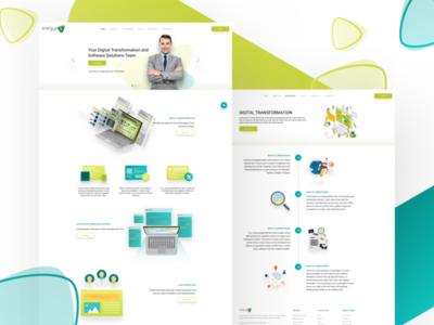 Sinergya Web site design