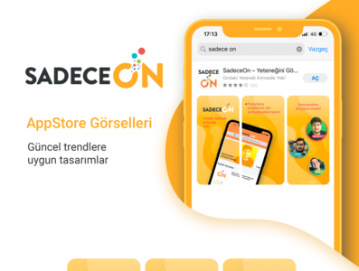 SadeceOn Project - New Ui & New App Store image colors branding typography ui design icon logo minimal vector design illustration ui ux
