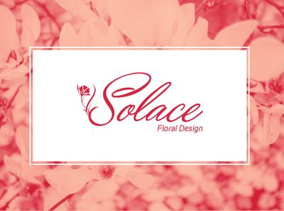 Solace Floral Design Logo