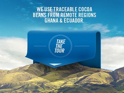 dribbblin' ribbbons photo ecuador candy cocoa cacao ribbon ui