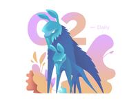Daily illustration challenge #02 — Сhimera