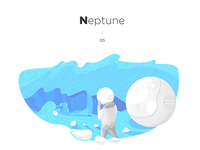 Daily illustration challenge #05 — Neptune
