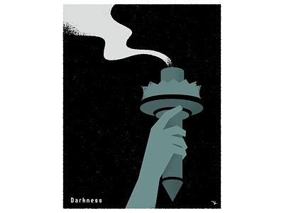 Darkness illustration