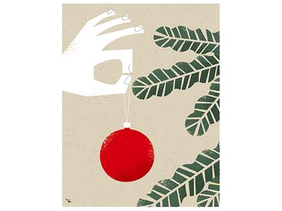 Ornament ball graphic design illustration