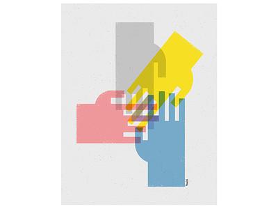 Quad graphic design illustration