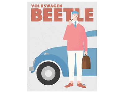 BEETLE graphic design illustration