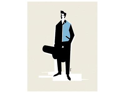 Rockabilly graphic design illustration