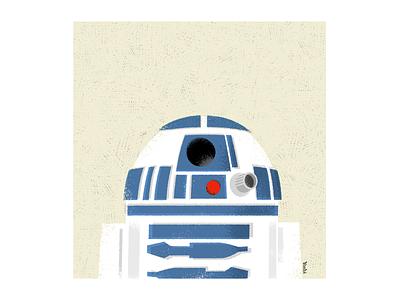 I love R2D2 graphic design illustration