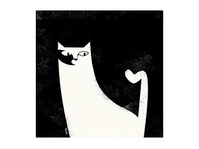Kinked Tail graphic design illustration