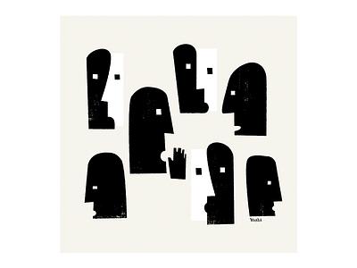 Rumors graphic design illustration