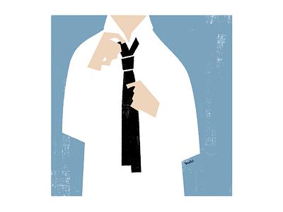 I have to get dressed. graphic design illustration
