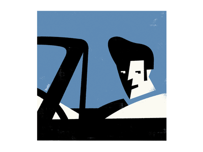Let's go for a ride! graphic design illustration