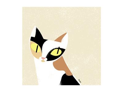 Portrait graphic design illustration