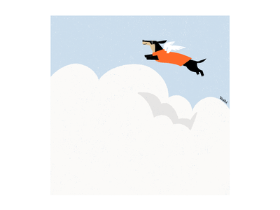 Now I can fly graphic design illustration