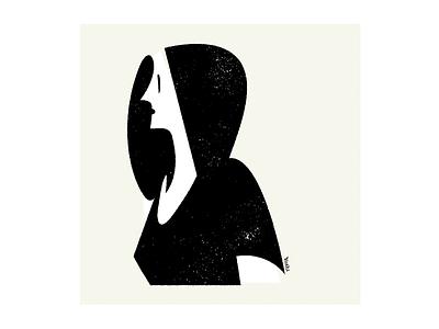 Woman graphic design illustration