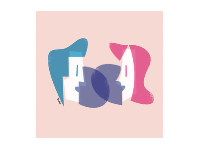 Similarity graphic design illustration