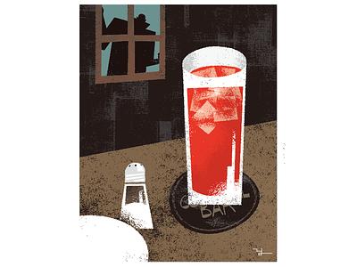 Bloody Mary illustration