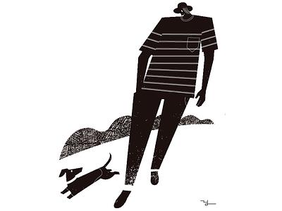 Day off illustration