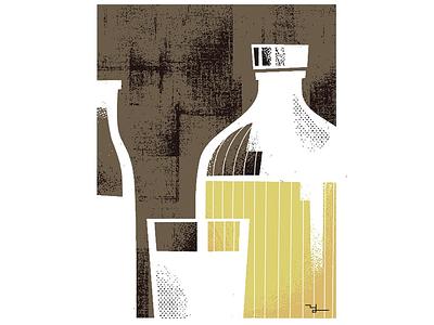 iichiko + milk illustration