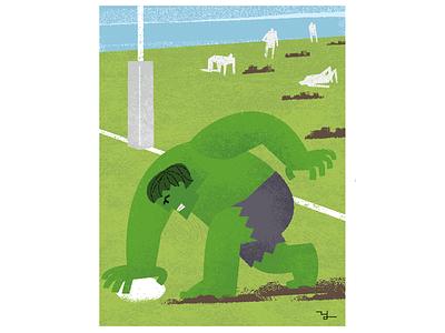 Rugby 2 illustration