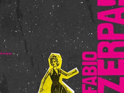 Fabio Zerpa Cover space retro paper collage