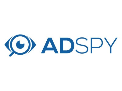 Adspy Logo people media social spy website design