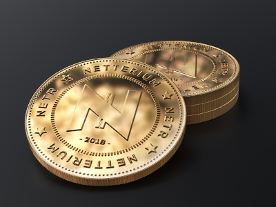 Netterium Gold Coin mockup by Haris Hekic on Dribbble