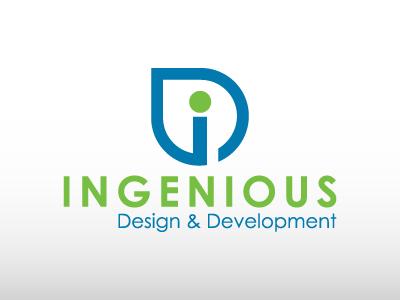 Ingenious logo design unique developement designer logo logofolio designer app design logo ingenious