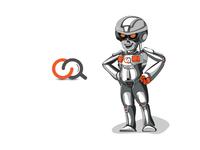 Technology Mascot Illustration