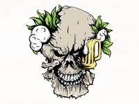 Skeleton beer