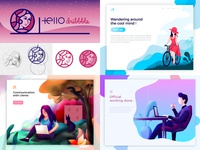 Dribbble from 2018