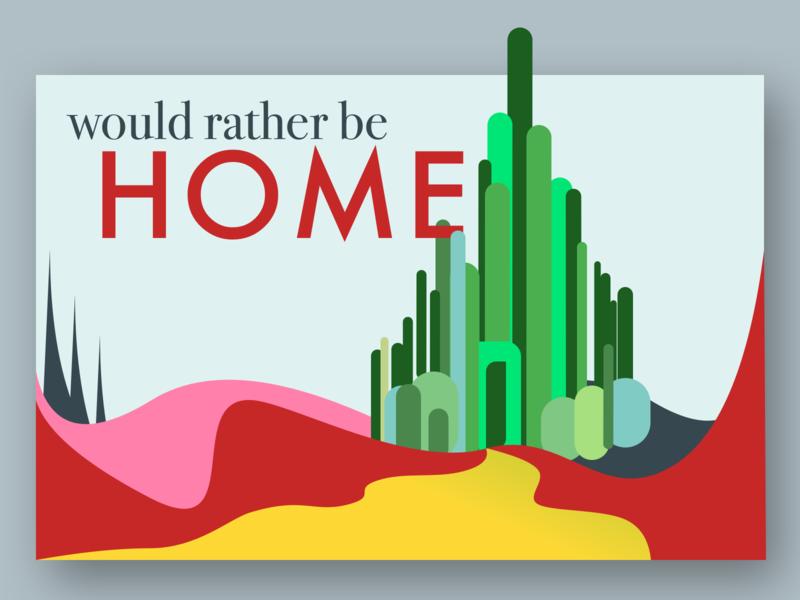 Weekly Warm-Up | Emerald City Postcard