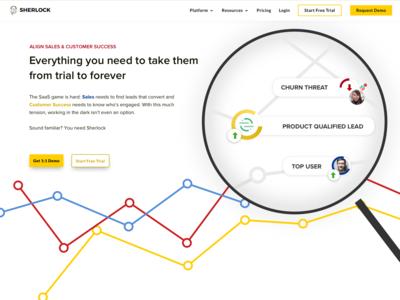 SaaS Homepage Header