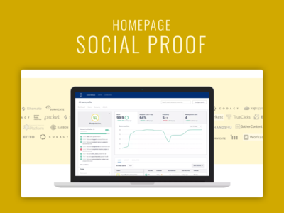 Startup social proof