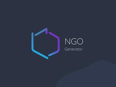 Logo for non-governmental organisation app logo