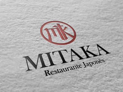 Mitaka Japanese Restaurant japonese restaurant japan samurai typography risingsun