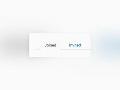 Inline tabs