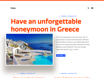 Hoia - Travel Ghost Theme by Haunted Themes ghost theme typography articles blog web template website theme ghost travel