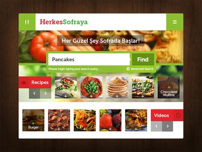 Herkes Sofraya - Daily Recipe Widget
