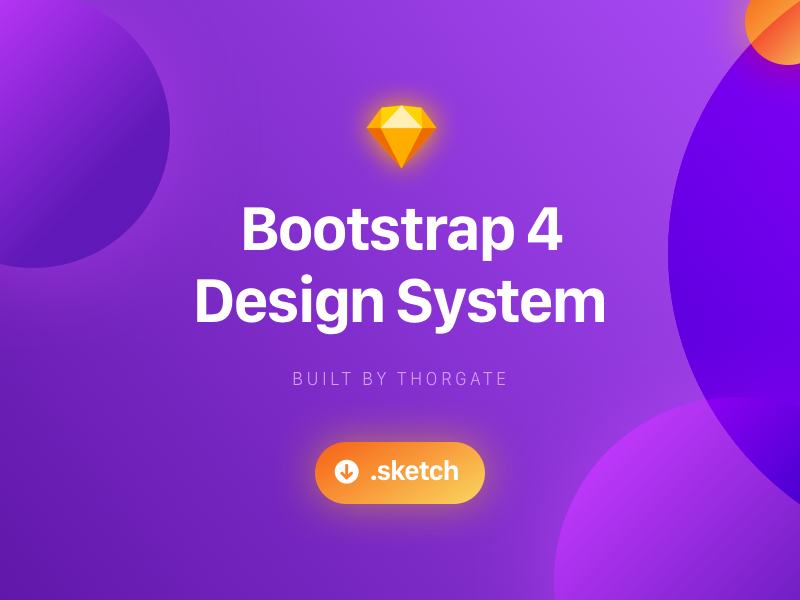 Bootstrap Design System - Sketch Freebie community bootstrap thorgate download system sketch freebie