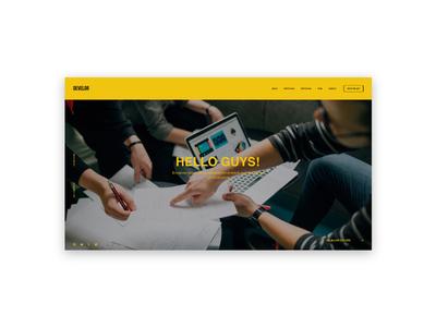 Develor | Digital Agency Website xd adobe app mobile e-commerce design experience interface user