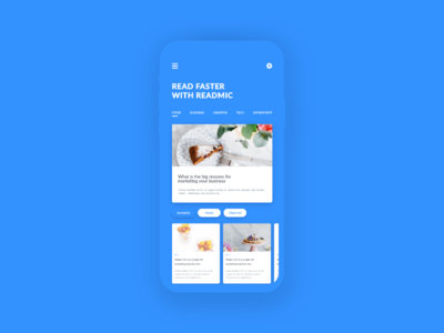 News Mobile app agency lawyer branding illustration deisng corporate vector adobe xd ux ui advertising business experience graphic app mobile design user interface