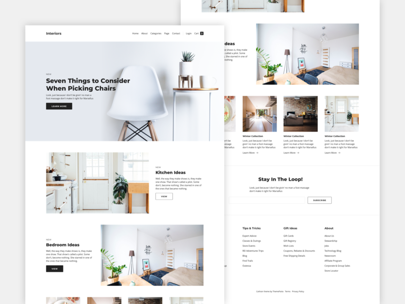 Working on a New Theme columns layout clean wordpress theme design typography ui ux grid wordpress minimal