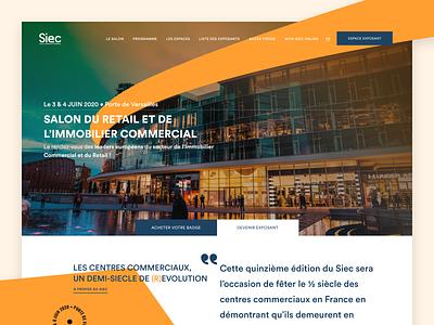 🖥• Homepage typography parallax vector interaction ui ux animation design homepage branding